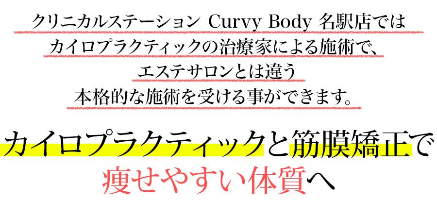 カイロプラクティックと筋膜矯正で痩せやすい体質へ